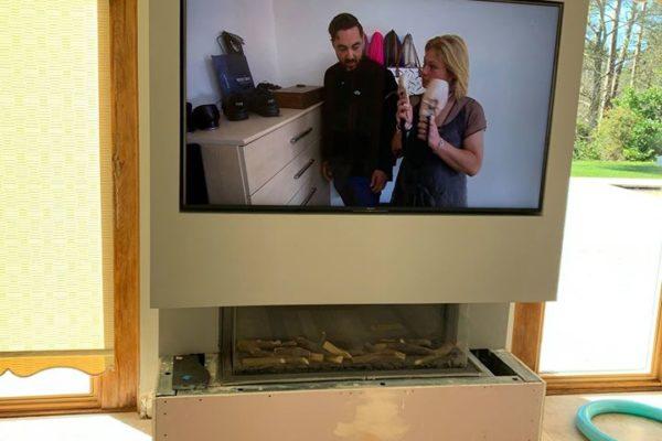 tv wall mounting installation